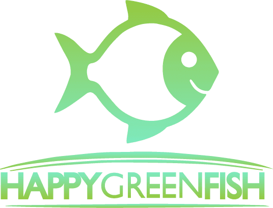 Happy Green Fish